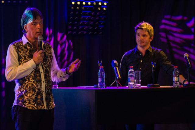 Luc Henzig et Olivier Toth sont satisfaits du bilan de la Rockhal. (Photo: Mike Zenari)