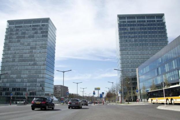 Les actifs sous-jacents du sukuk luxembourgeois, les tours place de l'Europe au Kirchberg (Photo: Maison Moderne Studio)
