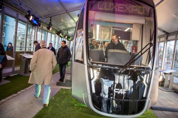 Monter à bord du tram en mouvement deviendra réalité en décembre prochain. (Photo: Maison Moderne)