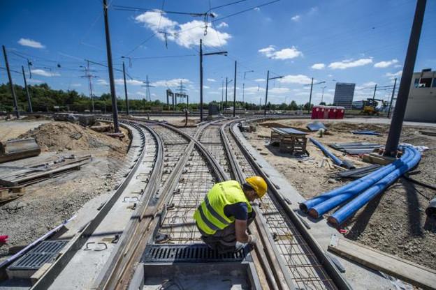 Des extensions en direction de Mamer, Leudelange ou au Kirchberg sont actuellement à l'étude par les Ponts et Chaussées. Pour une concrétisation potentielle d'ici 2025-2030. (Photo: Anthony Dehez)