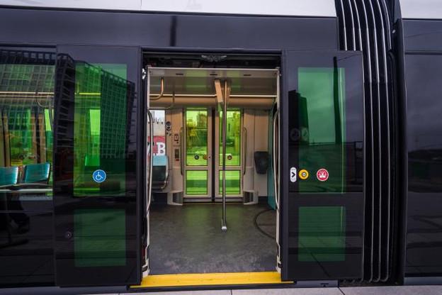 D'ici à 2035, il se pourrait que prendre le tram vous emmène directement du Kirchberg à Belval, selon le projet dévoilé ce jeudi. (Photo: Mike Zenari/archives)