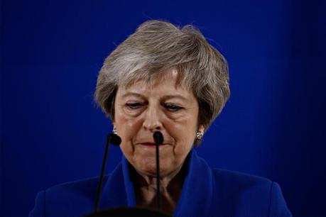Theresa May veut renégocier avec Bruxelles. Mais la Commission s'y oppose. (Photo: Shutterstock)