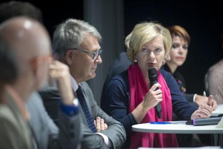 Pour Isabelle Schlesser de l'Adem, pour trouver un emploi, il faut disposer d'un goût de l'effort et d'une grande curiosité. (Photo: Christophe Olinger)