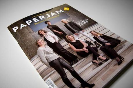 Des leading ladies en couverture de Paperjam1, disponible dès jeudi dans les kiosques. (Photos: Maison Moderne Studio)