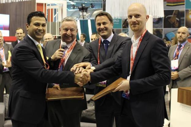 La coopération entre Vodafone et le Technoport, qui permet un an plus tard d'organiser l'événement, avait été révélée lors du World Mobile Congress de Barcelone en 2017. (Photo: DR)