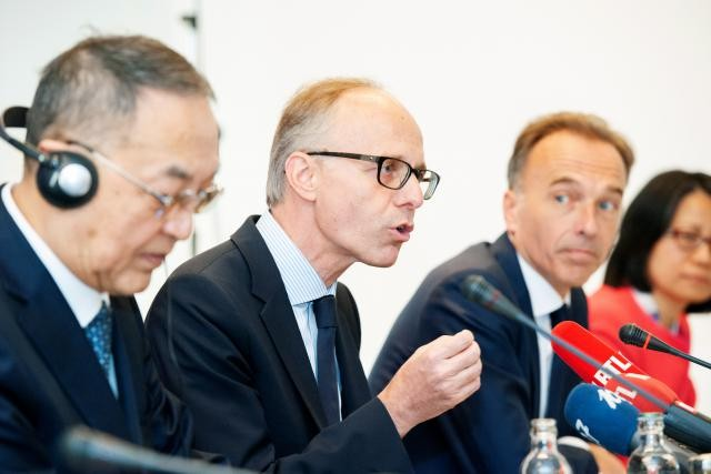 Le président du conseil d'administration de la Bil, Luc Frieden, a souhaité préciser: «Nous ne sommes pas la huitième banque chinoise au Luxembourg.» (Photo: Lala La Photo)