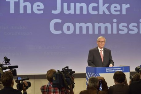 Sous l'œil des caméras, Jean-Claude Juncker était aussi observé en direct via internet et les réseaux sociaux. (Photo: Commission Européenne)