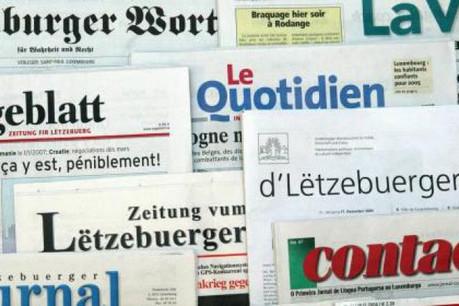 Près de la moitié de tous les investissements publicitaires au Luxembourg se fait dans la presse quotidienne. (Photo: eu2005.lu)