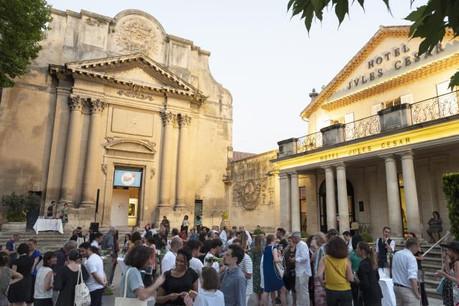 L'exposition luxembourgeoise à Arles se tient dans la Chapelle de la Charité. (Photo: Romain Girtgen)