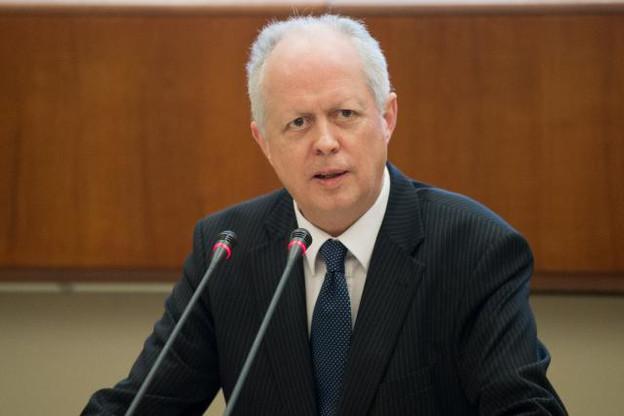 Jean Guill, directeur général de la CSSF, s'est voulu rassurant quant à la transposition luxembourgeoise de la directive Barnier. (Photo: Charles Caratini)