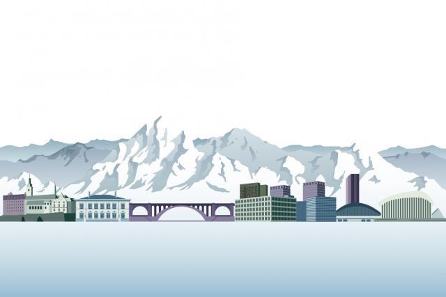 Depuis que la fin du secret bancaire se dessine dans la Confédération helvétique, les banques suisses tentent d'obtenir une licence pour aller à la rencontre de leurs clients au sein de l'UE. (Illustration: Maison Moderne)