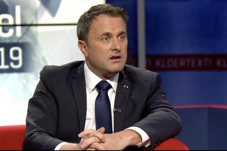 Pour le Premier ministre, le pays doit absolument rester compétitif. (Photo: capture d'écran RTL Télé Lëtzebuerg)