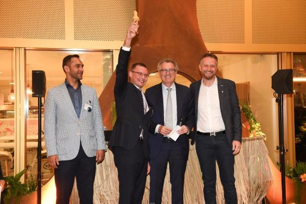 L'année dernière, c'est la regtech chypriote AIFMaps qui avait remporté le Grand Prix des Fintech Awards 2017. (Photo: Anthony Dehez / archives)