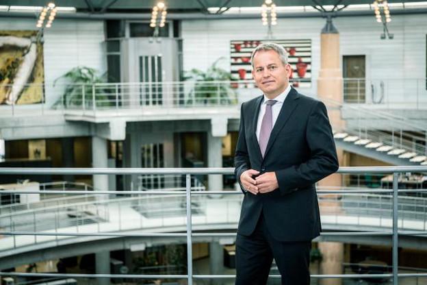 Avenir: Frank Krings voit le Luxembourg devenir le principal pôle de banque privée de Deutsche Bank en Europe. (Photo: Benjamin Champenois/Maison Moderne)