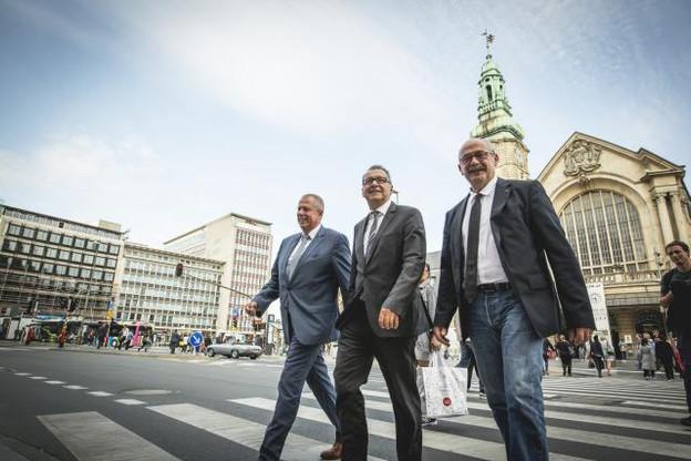 Pour les trois élus frontaliers, la mobilité sera l'un des principaux enjeux du futur gouvernement luxembourgeois. (Photo: Patricia Pitsch / Maison Moderne)