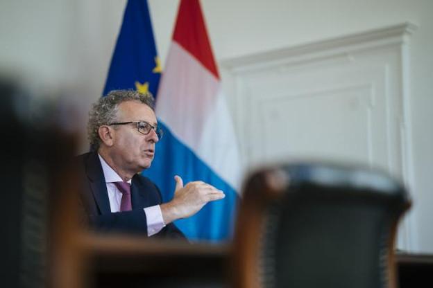 Le secteur financier se réinvente et doit le faire savoir, estime Pierre Gramegna. (Photo: Sven Becker/Archives)