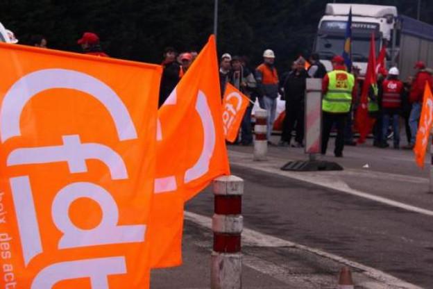 La mobilisation des sidérurgistes mosellans reste très forte. (Photo : CFDT)