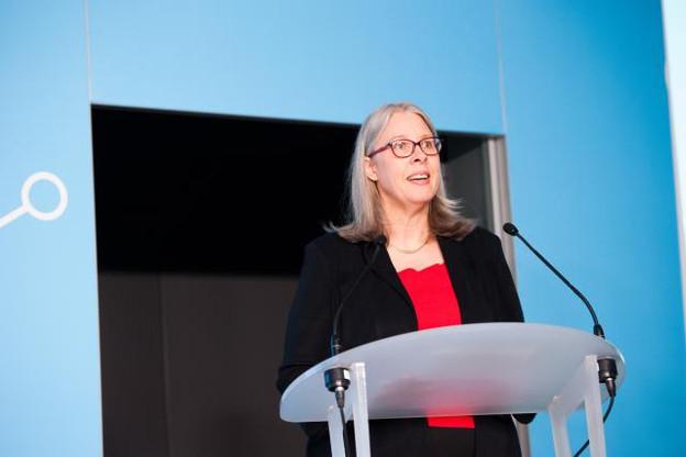 Denise Voss, présidente de l'Alfi, a pointé la forte progression des fonds alternatifs basés au Luxembourg. (Photo: Lala La Photo)