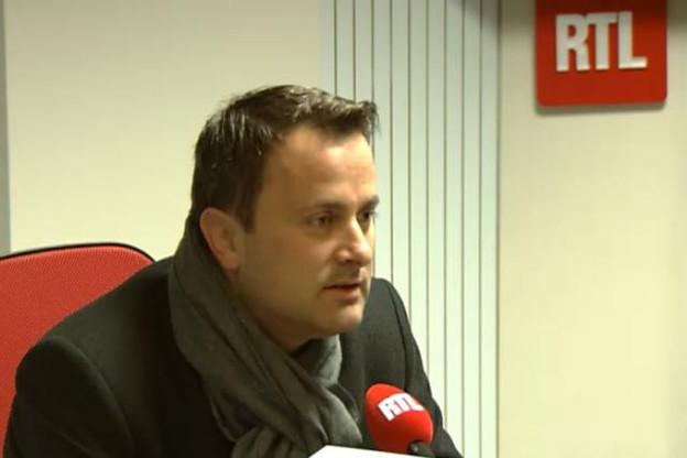 Pour Xavier Bettel, le Luxembourg doit rester attractif pour les frontaliers belges.  (Photo: RTL)