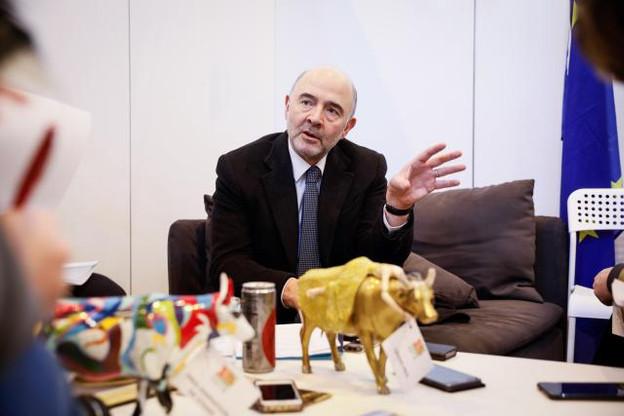 Pierre Moscovici présentera les propositions de la Commission visant à taxer les Gafa en début de semaine prochaine. (Photo: Commission Européenne)