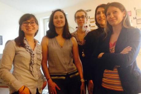 Kasia Kolodzeijczyk, Marie-Adélaïde Gervis, Annabelle Buffart, Marina Thiriet et Laurence Bianchini (Photo: DR)