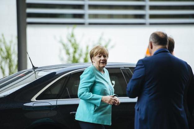 Angela Merkel a prédit dimanche quelques longues heures d'ultimes négociations. (Photo: Sven Becker / Archives)