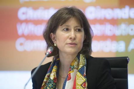 Evelyne Christiaens, head of legal & tax department, Alfi. (Photo: Steve Eastwood)