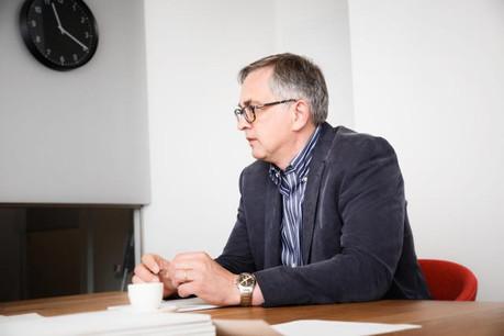 Jean-Paul Scheuren: «Il faut en finir avec les effets d'annonce et mettre en œuvre ce que l'on promet.» (Photo: Jan Hanrion)
