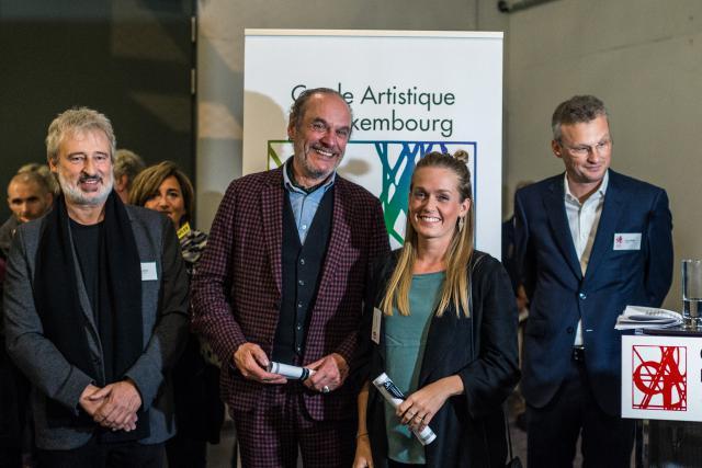 Roland Schauls et Sandra Lieners sont les lauréats du Prix Werner2018. (Photo: Mike Zenari)