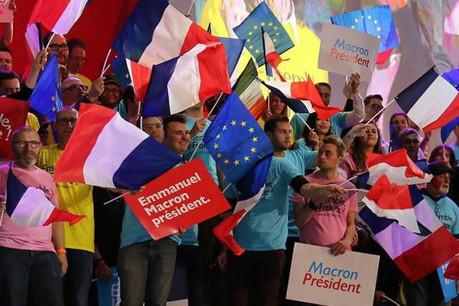 La victoire d'Emmanuel Macron, plus fêtée par les citoyens que par les investisseurs. (Photo: Licence CC)