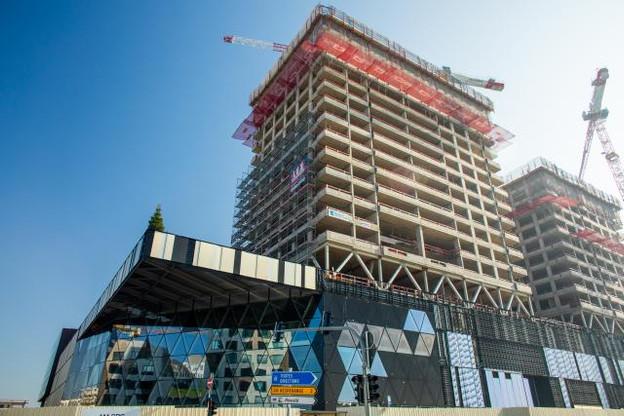 Le centre commercial Cloche d'Or ouvrira en mai 2019. (Photo: Matic Zorman)