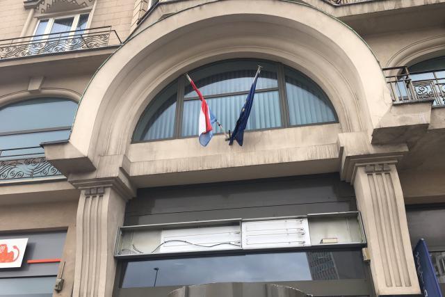 l'Hôtel Alfa, place de la Gare à Luxembourg, a perdu son enseigne Mercure et ses portes restent closes. (Photo: DR)