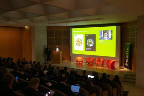 La conférence sur les PSF de Deloitte a rassemblé plus de 150 personnes du secteur au Mudam. (Photo: Matic Zorman)
