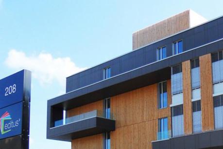 Depuis un an, Editus est installé à Kayl, dans un bâtiment appartenant à l'Entreprise des P&T.  (Photo : Editus)