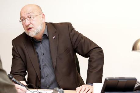 Du côté syndical, André Roeltgen (OGBL) s'est déclaré opposé à un relèvement de l'âge de départ à la retraite, préconisé par la Commission. (Photo: Maison moderne / archives)