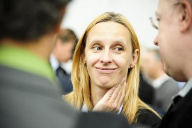 Frédérique Theisen (Cenarp): «Le personnel, aussi, porte l'image de l'entreprise à l'extérieur.»  (Photo: David Laurent/Wide/archives)