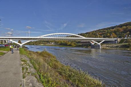 Le Pont Grevenmacher remporte le prix du public ainsi que le prix d'ingénierie. (Photo: Lukas Huneke)
