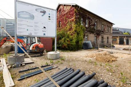 Le site des Rotondes va connaître dans les mois à venir la fin de la première partie des travaux de restauration et de réaménagement. (Photo: Pierre Levy pour l'Administration des bâtiments publics)
