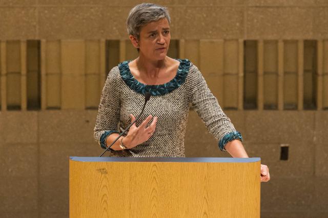La commissaire européenne à la concurrence, Margrethe Vestager, a rendu le verdict dans le cas des rulings de Fiat et Starbucks. (Photo: Commission Européenne)