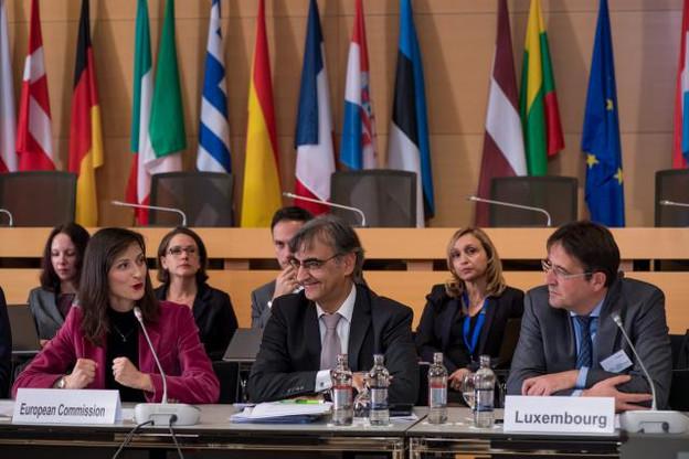 La commissaire Mariya Gabriel a salué le rôle important joué par le Luxembourg dans le projet EuroHPC. (Photo: Nader Ghavami)