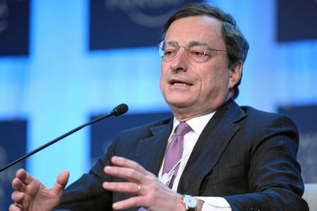 Mario Draghi refuse de voir les banques accuser les taux bas de tous leurs maux. (Photo: Licence C.C.)