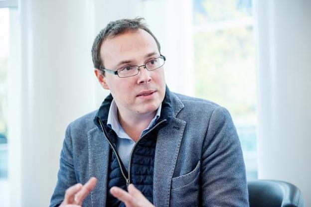 Pierre Naquin, fondateur de Art Media Agency, voit la blockchain comme un outil d'avenir pour le marché de l'art. (Photo: Lala La Photo)