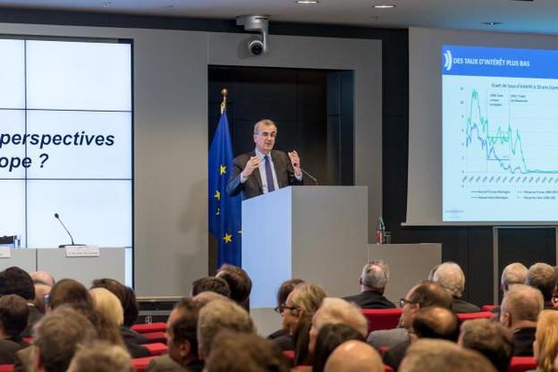 Le gouverneur de la Banque de France a souligné que le bitcoin n'est pas une monnaie en tant que telle. (Photo: Nader Ghavami / archives)