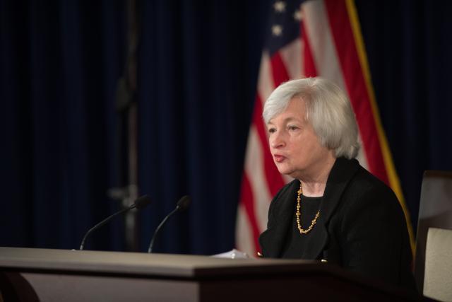 Janet Yellen, à la tête de la Fed ces quatre dernières années, n'a pas démérité, mais a sans doute le tort d'avoir été nommée par Obama. (Photo: Licence C. C.)