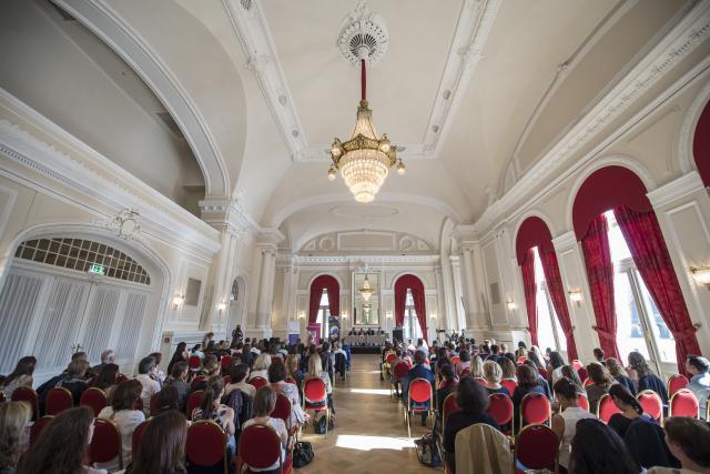 L'événement a attiré près de 300 personnes au Cercle Cité. (Photo: Anthony Dehez)