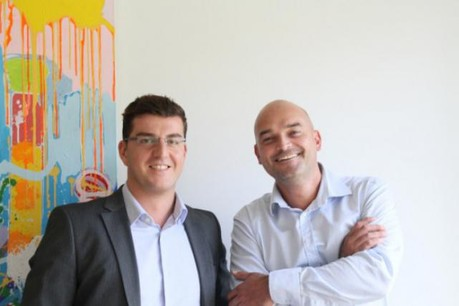Nicolas Kadri et Dorian Grégoire sont à l'origine de l'initiative Let's Lunch au Luxembourg. (Photo : DR)