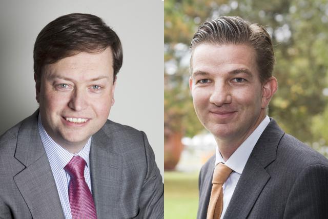 Philippe Ledent, senior economist chez ING Belux et Thorsten Lehnert, professeur à la Luxembourg School of Finance. (Photo: DR)