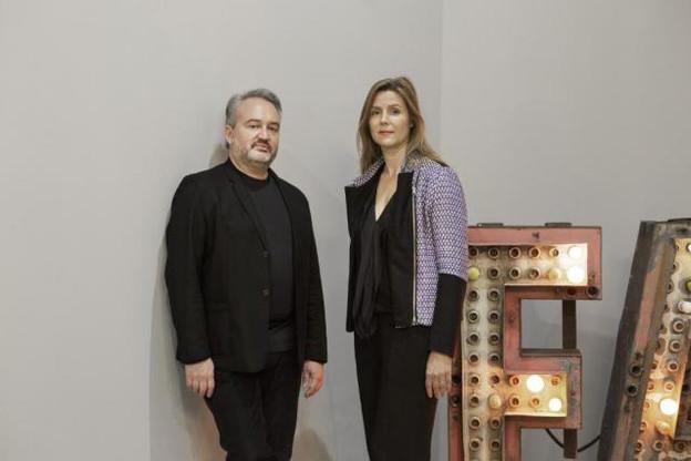 Jusqu'au 17 décembre, Jean-Claude Lazard et Audrey Bossuyt présentent l'exposition «Atmosphères». (Photos: Christian Aschman)