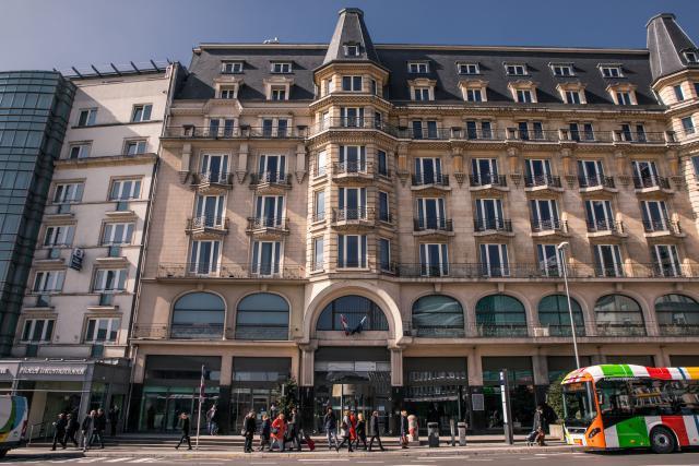 L'Hôtel Alfa est situé juste en face de la gare de Luxembourg, un lieu stratégique pour le secteur hôtelier. (Photo: Edouard Olszewski / Archives)
