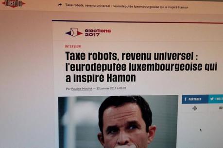 Benoît Hamon a repris le «package» de l'eurodéputée luxembourgeoise.  (Photo: DR)